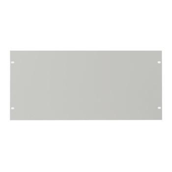 CANFORD RACK PANEL BLANK, FULL WIDTH 5U Flat aluminium, dawn grey